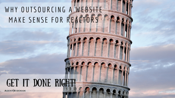 Why Outsourcing a Website Make Sense for Realtors