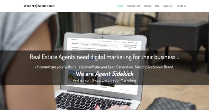 Responsive website on desktop