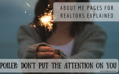 About Me Page for Realtor Websites Explained