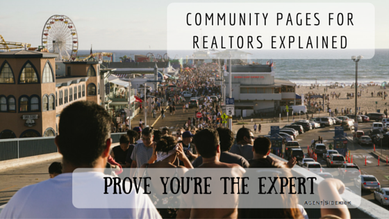 Community Pages for Realtors Explained